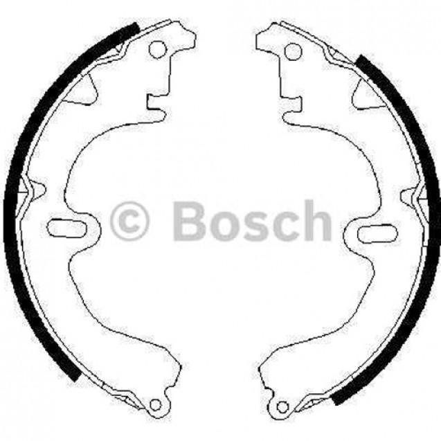 Bosch Тормозные колодки барабанные/ Toyota Camry