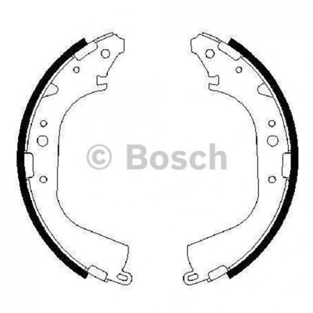 Bosch Тормозные колодки барабанные/ Toyota Land Cruiser