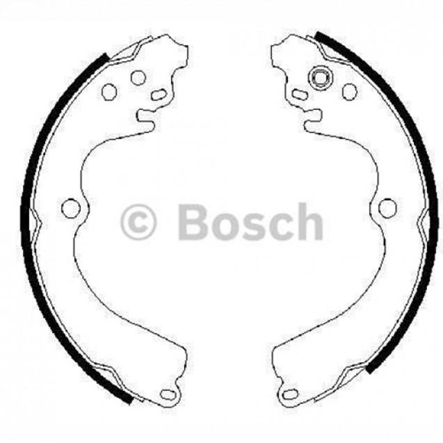 Bosch Тормозные колодки/ Subaru Forester