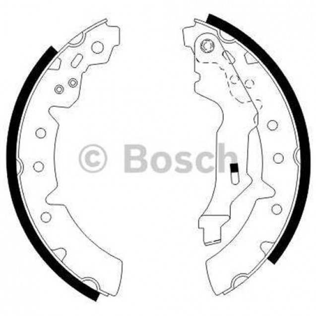 Bosch Тормозные колодки барабанные/ Toyota Carina