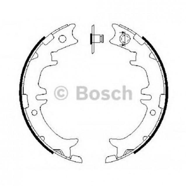 Bosch Тормозные колодки/ Toyota Avensis Verso