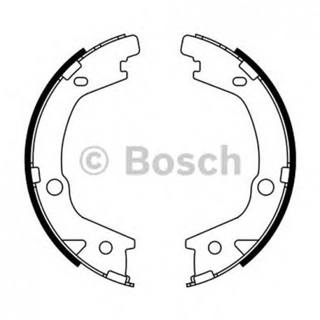 Bosch Тормозные колодки барабанные/ Suzuki Grand Vitara