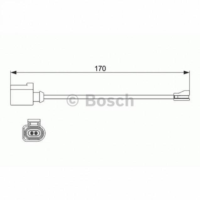 Bosch Датчик износа/ Skoda Octavia Combi