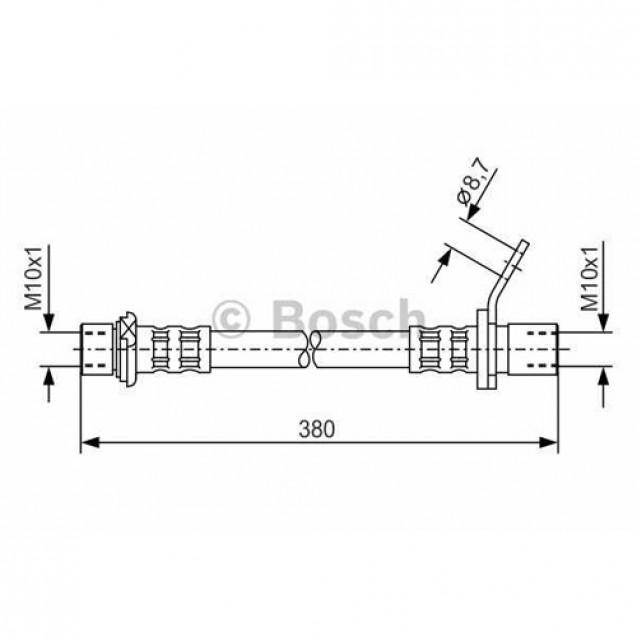 Bosch Тормозной шланг/ Toyota Avensis