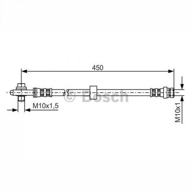 Bosch Тормозной шланг/ Skoda Octavia