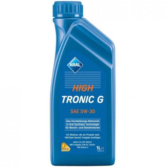 Aral HighTronic G 5W30 Синтетическое масло 1l