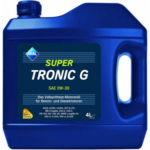 Aral SuperTronic G 0W30 Синтетическое масло 4l