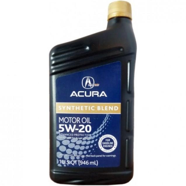 ACURA 5W-20 Синтетическое масло 946ml
