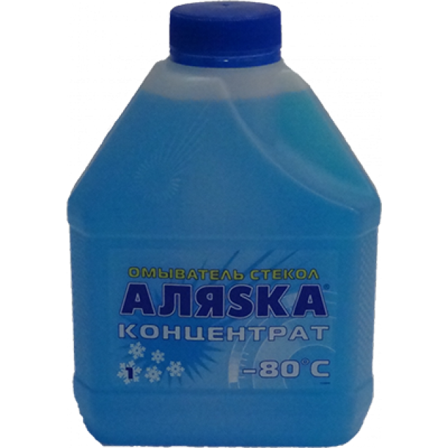 AЛЯSKA Омыватель стекол концентрат -80 1kg