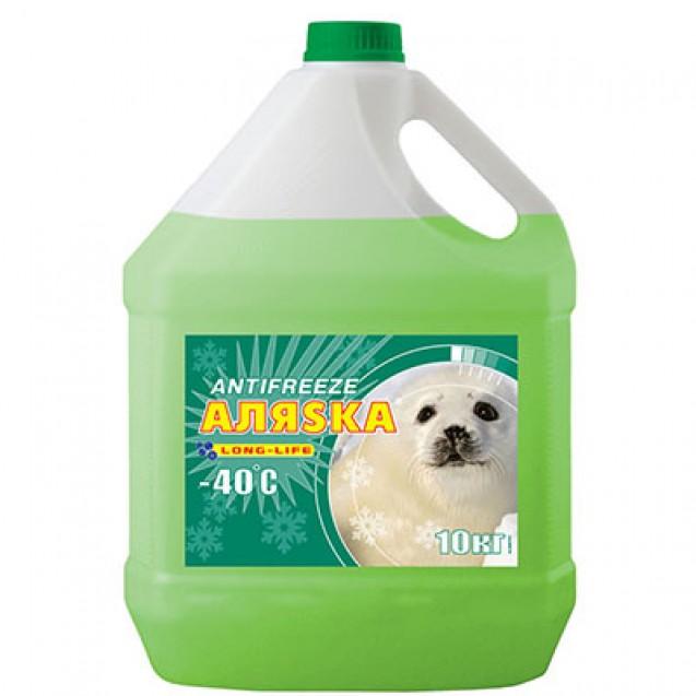 AЛЯSKA Antifreeze Long Life (зеленый) 10kg