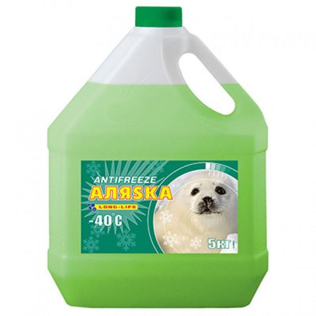 AЛЯSKA Antifreeze Long Life (зеленый) 5kg