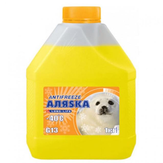AЛЯSKA Antifreeze Long Life (желтый) 1kg