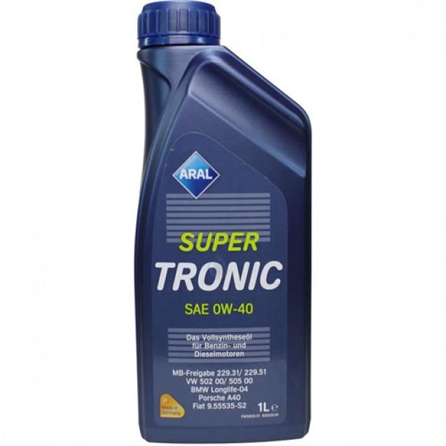 Aral SuperTronic 0W40 Синтетическое масло 1l