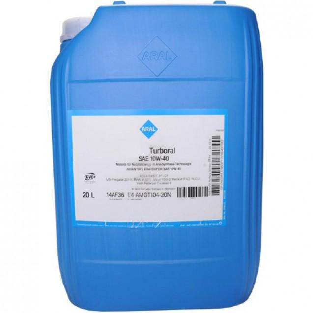 Aral Turboral 10W40 Полусинтетическое масло 20l