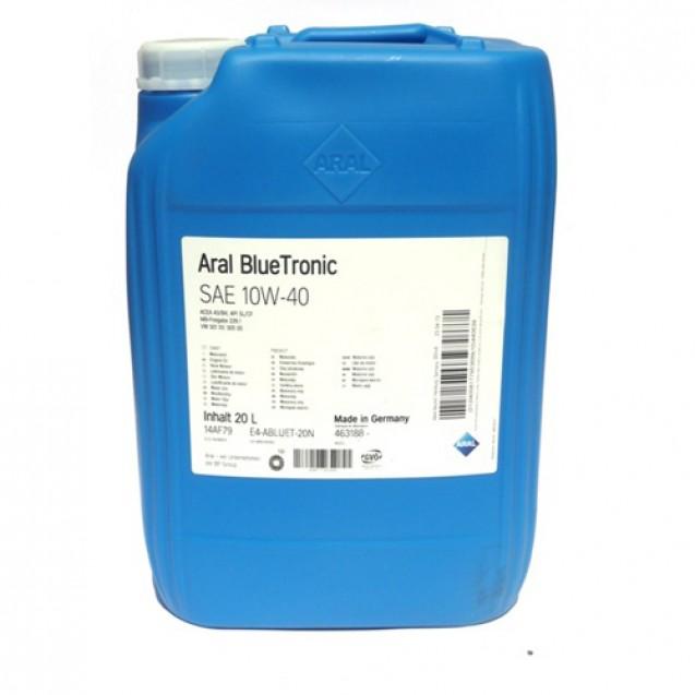 Aral BlueTronic 10W40 Полусинтетическое масло 20l