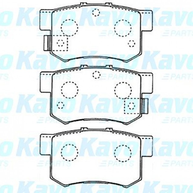 KAVO Тормозные колодки дисковые/ Suzuki SX4