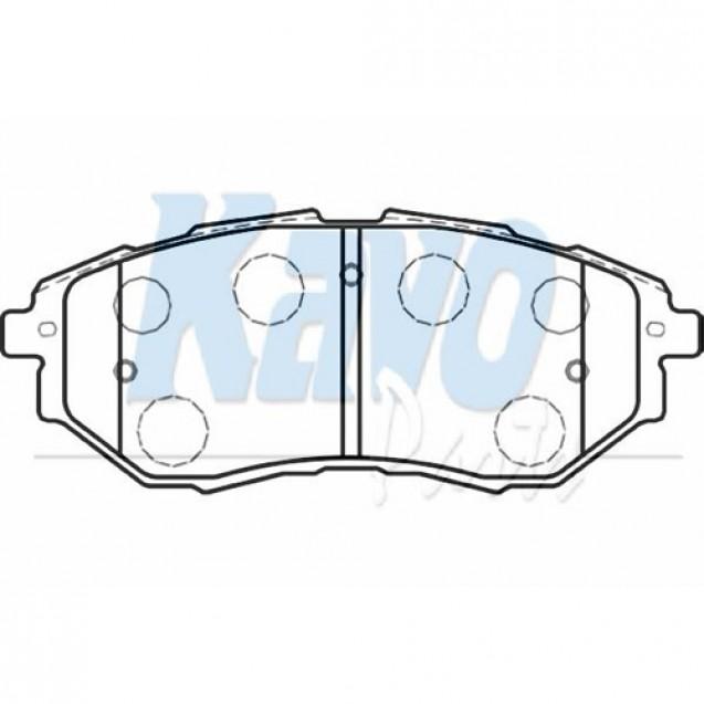 KAVO Тормозные колодки дисковые/ Subaru Legacy