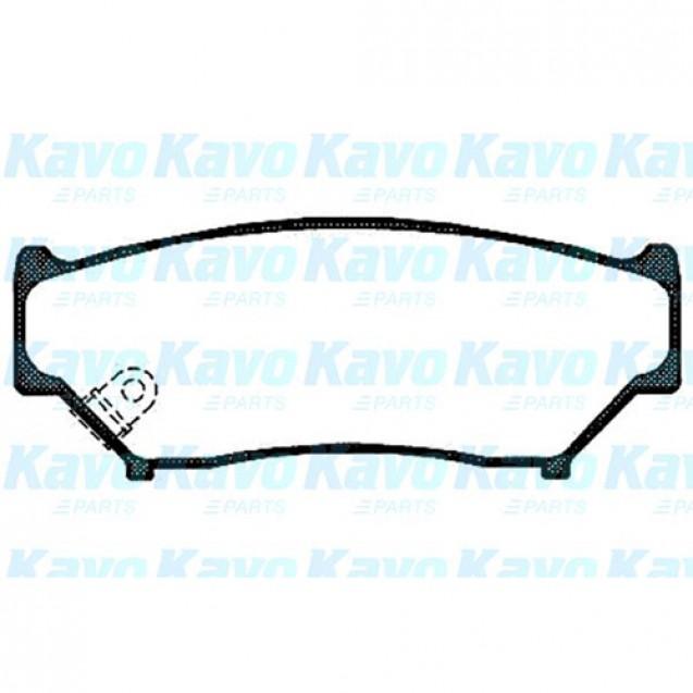 KAVO Тормозные колодки дисковые/ Suzuki Grand Vitara