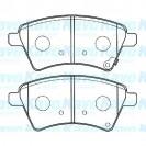 KAVO Тормозные колодки дисковые передние/ Suzuki SX4