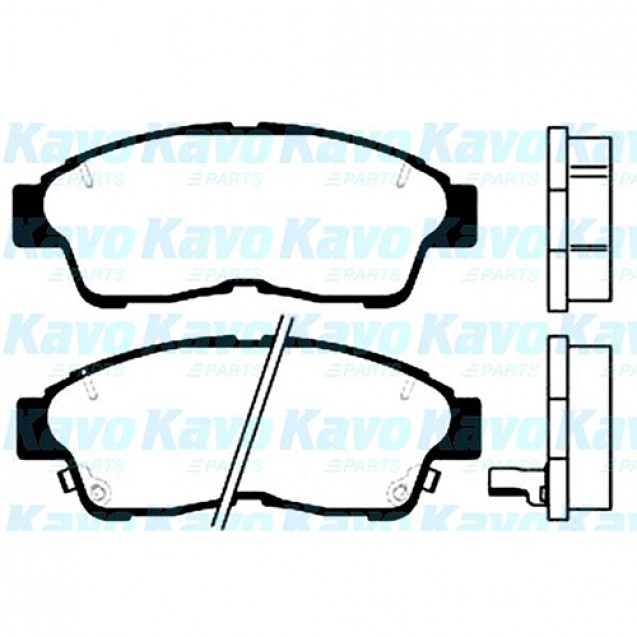KAVO Тормозные колодки дисковые/ Toyota RAV4