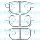 KAVO Тормозные колодки дисковые задние/ Toyota Auris