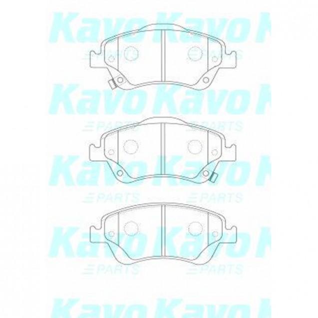 KAVO Тормозные колодки дисковые/ Toyota Auris