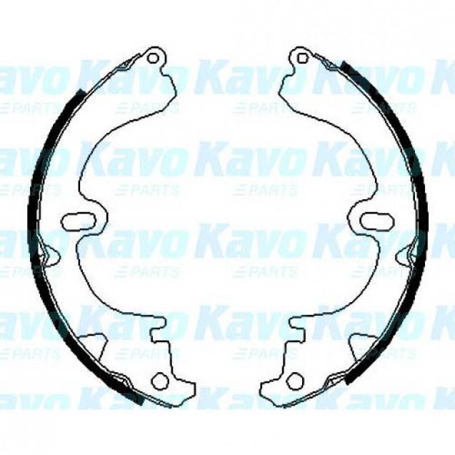 KAVO Тормозные колодки барабанные/ Toyota Carina