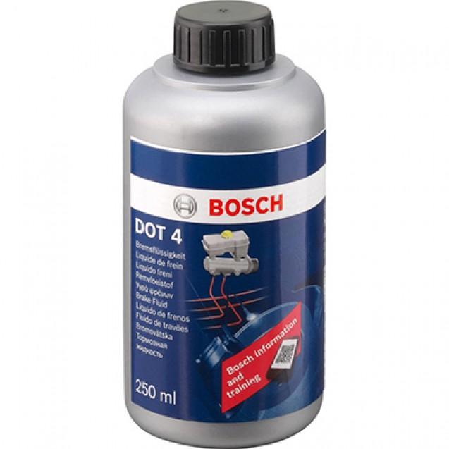 BOSCH Тормозная жидкость DOT-4 250ml