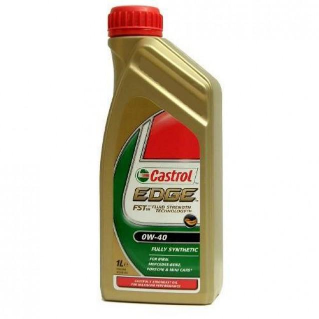 CASTROL EDGE FST 0W40 Синтетическое масло 1l