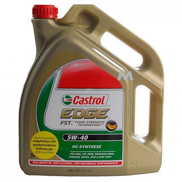CASTROL EDGE FST 5W40 Синтетическое масло 5l