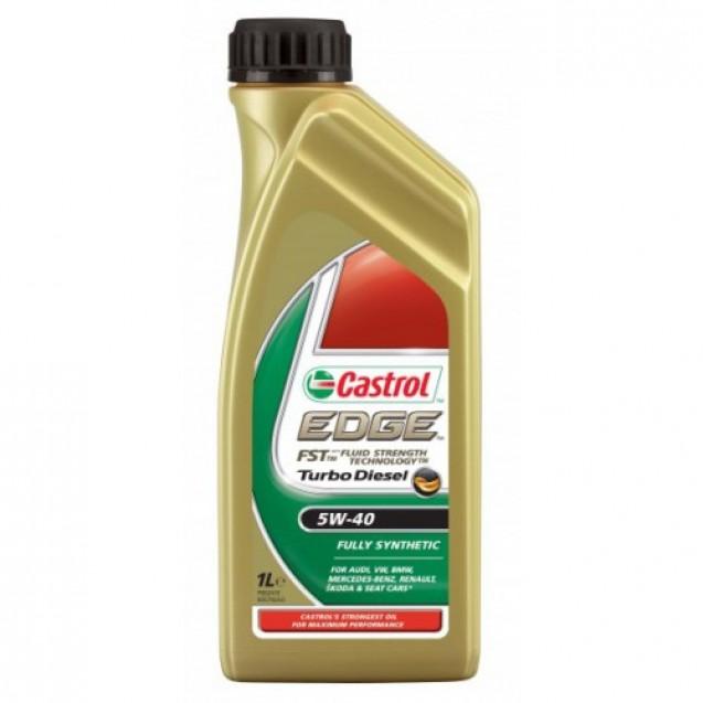 CASTROL EDGE FST Turbo Diesel 5W40 Синтетическое масло 1l