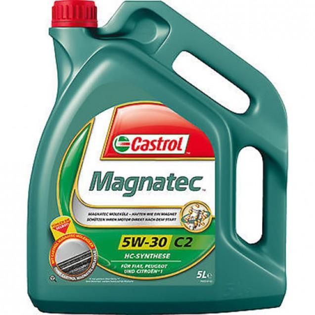 CASTROL Magnatec 5W30 C2 Синтетическое масло 5l