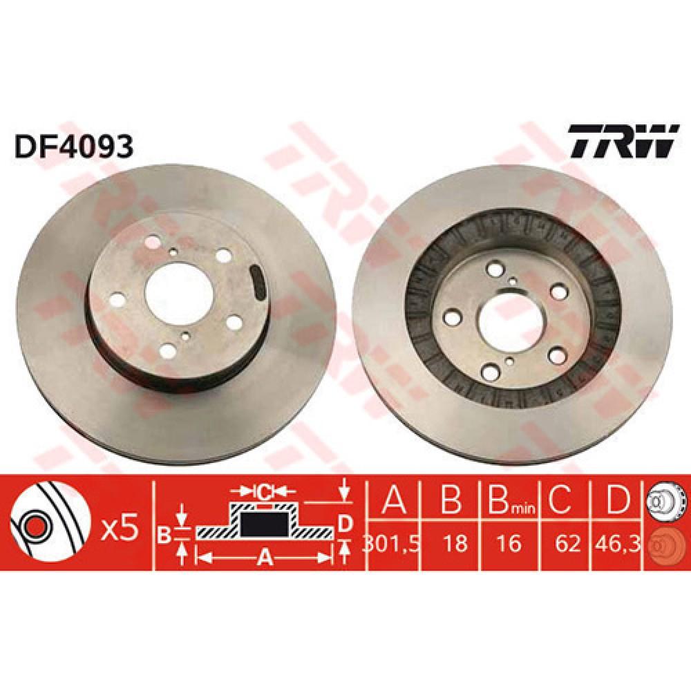 тормозной диск toyota rav4