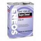 ENEOS Super Diesel CG-4 10W40 Полусинтетическое масло 4l