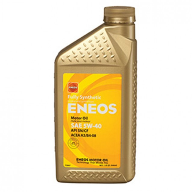 ENEOS Fully Synthetic 5W40 Синтетическое масло 946ml