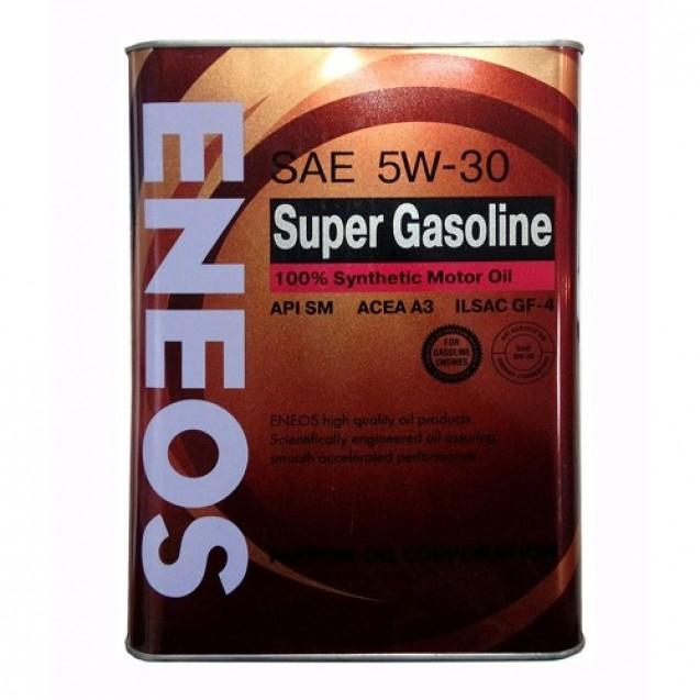 ENEOS Super Gasoline SM 5W30 Синтетическое масло 4l