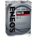 ENEOS Gear Oil GL-5 80W90 Трансмиссионное масло 4l