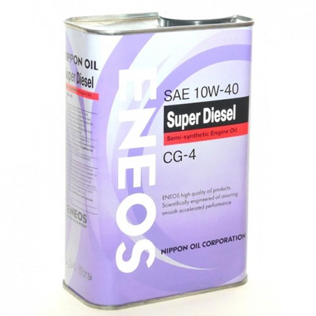 ENEOS Super Diesel CG-4 10W40 Полусинтетическое масло 940ml