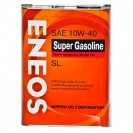 ENEOS Super Gasoline SL 10W40 Полусинтетическое масло 4l