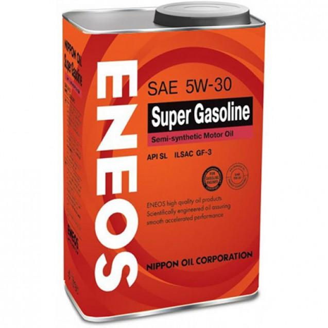 ENEOS Super Gasoline SL 5W30 Полусинтетическое масло 940ml