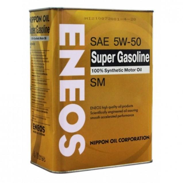 ENEOS Super Gasoline SM 5W50 Синтетическое масло 4l