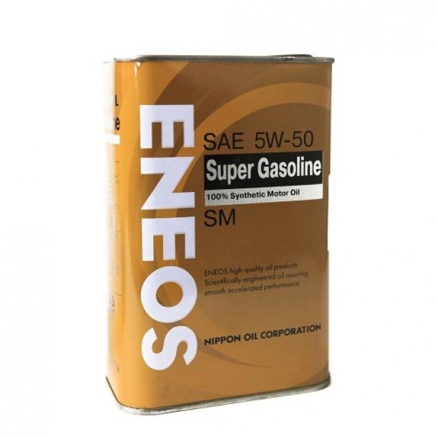 ENEOS Super Gasoline SM 5W50 Синтетическое масло 940ml