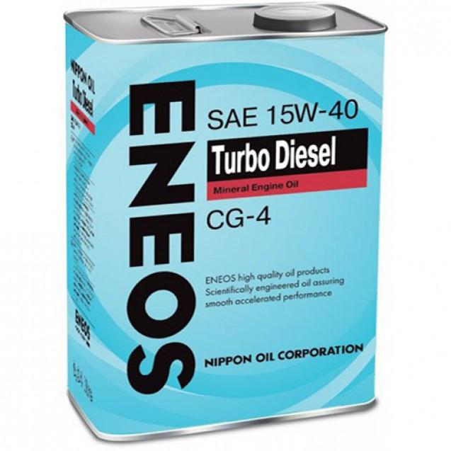 ENEOS Turbo Diesel CG-4 15W40 Минеральное масло 4l