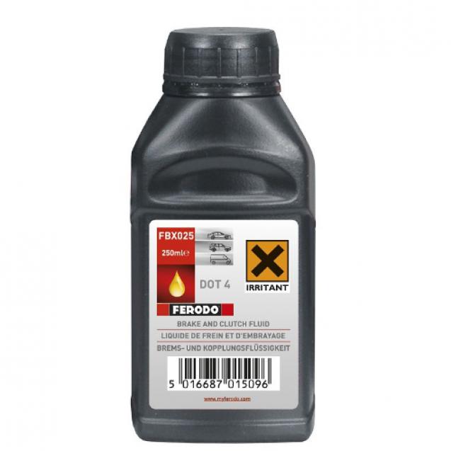 FERODO DOT 4 Тормозная жидкость 250ml