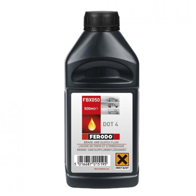 FERODO DOT 4 Тормозная жидкость 500ml