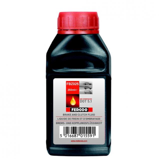 FERODO DOT 5.1 Тормозная жидкость 250ml