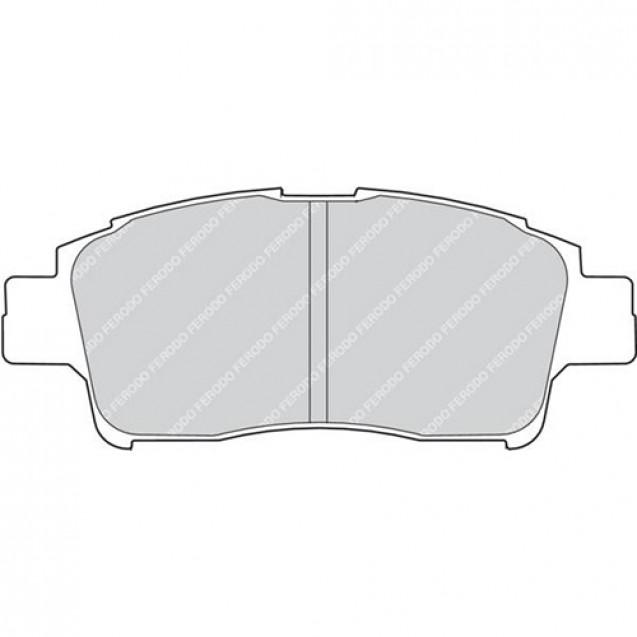 Ferodo Тормозные колодки дисковые/ Toyota Yaris