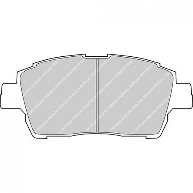 Ferodo Тормозные колодки дисковые/ Toyota Prius
