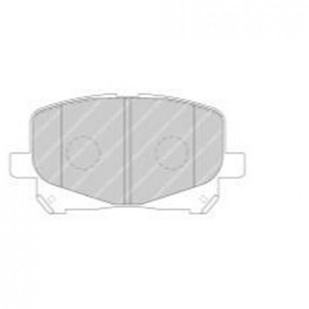 Ferodo Тормозные колодки дисковые/ Toyota Previa