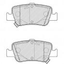 Ferodo Тормозные колодки дисковые/ Toyota Auris